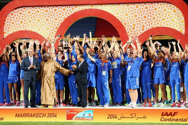 Europe victorious at IAAF Continental Cup, Marrakech 2014