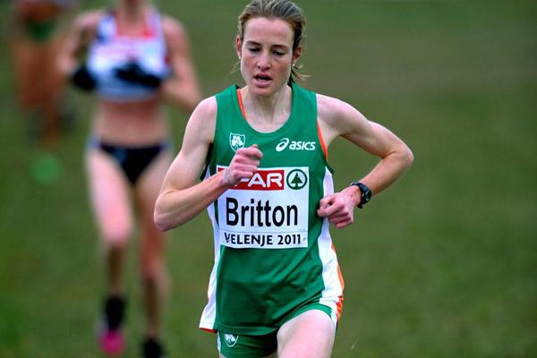 Fionnuala Britton en route to a commanding victory in Velenje (Mark Shearman)