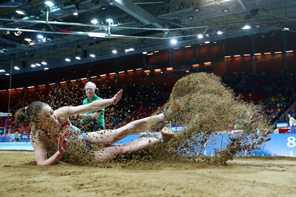 Russian long jumper Svetlana Biryukova (Getty Images)