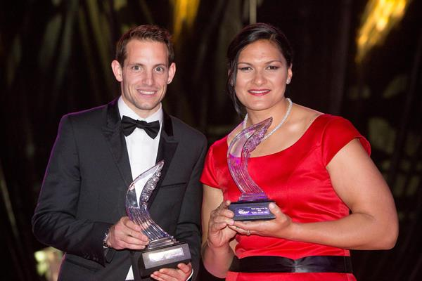 A look back at Renaud Lavillenie's and Valerie Adams' year in athletics