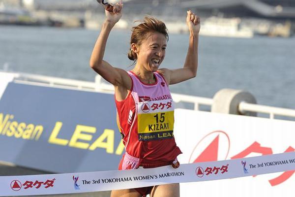 Ryoko Kizaki wins in Yokohama (Yohei KAMIYAMA / Agence SHOT)