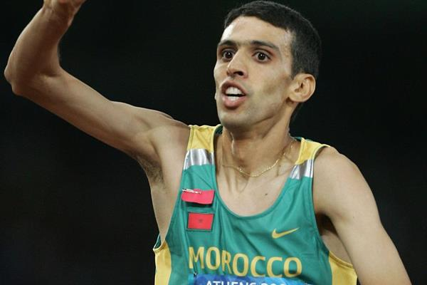 Moroccan middle-distance runner Hicham El Guerrouj (Getty Images)