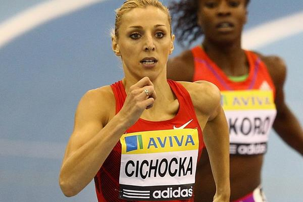 Polish middle-distance runner Angelika Cichocka (Getty Images)