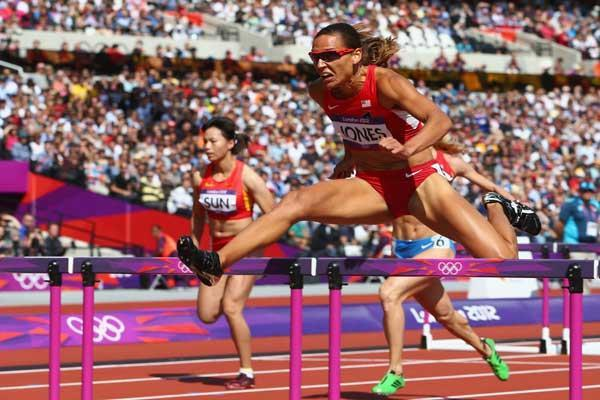 American 100 metre hurdler Lolo Jones (Getty images)