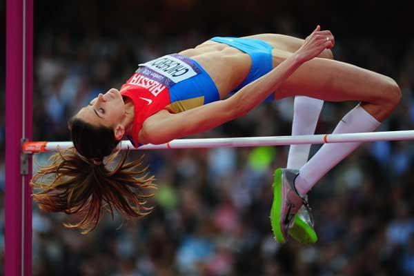 Russian High Jumper Anna Chicherova (Getty images)