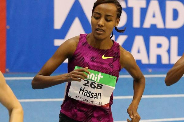 Hassan the star on a night of six world leads in Karlsruhe