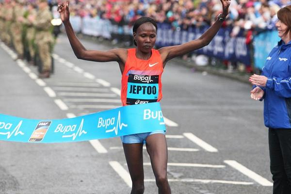 Jeptoo looks to bounce back at Great South Run