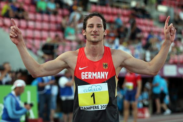 German decathlete Kai Kazmirek (Getty Images)