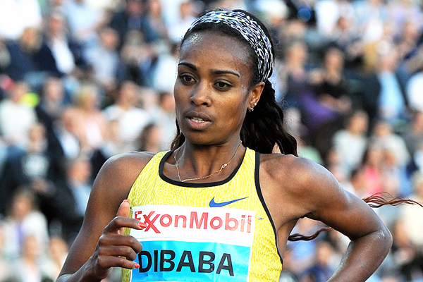 Ethiopian middle-distance runner Genzebe Dibaba (Mark Shearman)