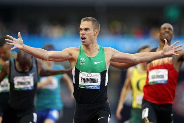 800m American runner Nick Symmonds (Getty Images)