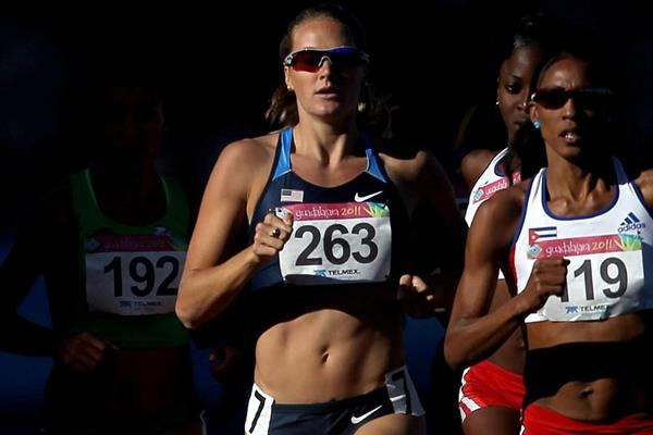 US middle-distance runner Heather Kampf (Getty Images)