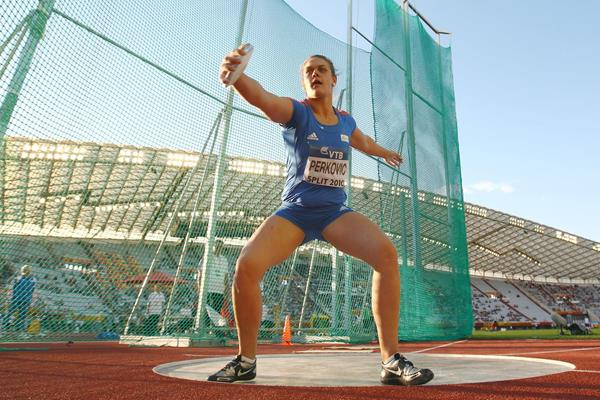 Womens midget shotput discuss