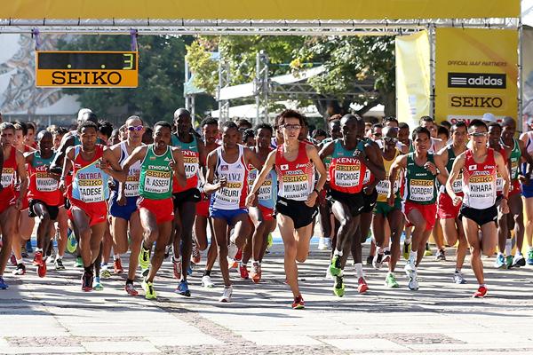 The start of the IAAF World Half Marathon Championships (Getty Images)