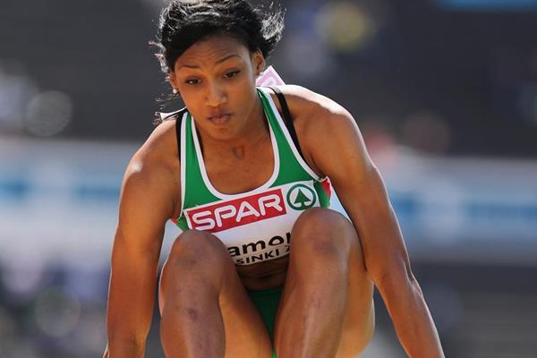 Portuguese triple jumper Patricia Mamona (Getty Images)