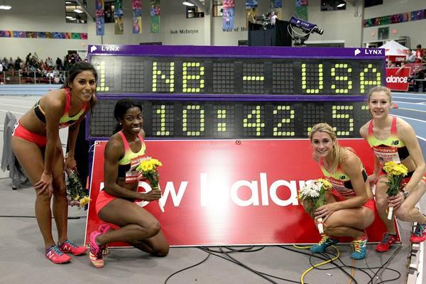 New Balance Spikes 2015 at The 2015 New Balance