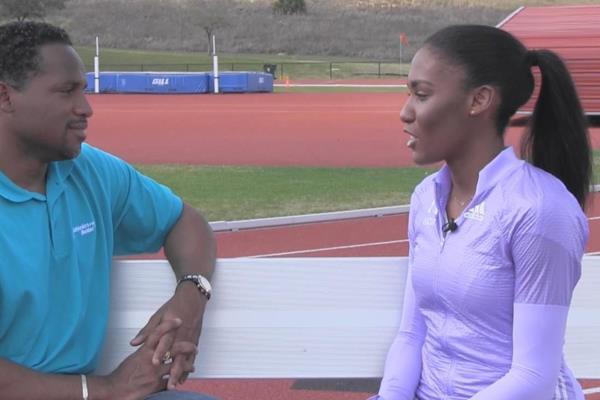 Ajee Wilson on Inside Athletics  (IAAF)