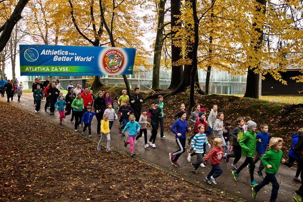 The 'all generations run 4 fun' event in Kranj (Organisers)