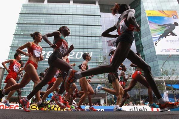 Marathon image 2 used in IAAF Discipline section  (Getty images)