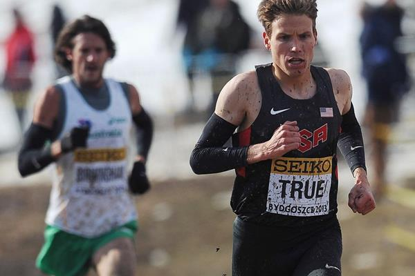 USA's Ben True in the senior men's race at the 2013 IAAF World Cross Country Championships (Getty Images)
