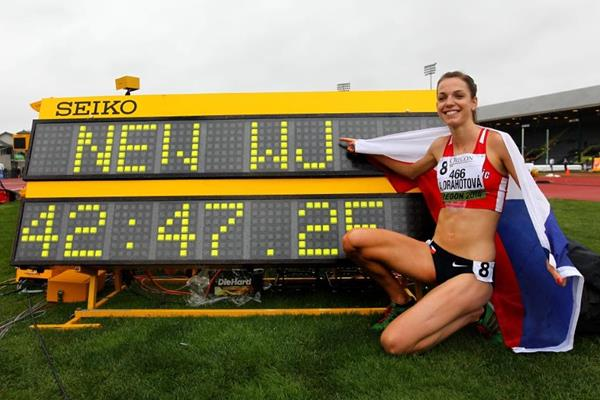 Day two report: Czech mate! Drahotova and Sykora get the plaudits - IAAF World Junior Championships, Oregon 2014