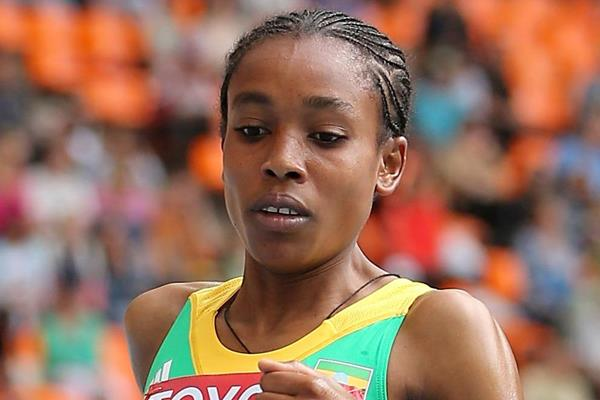 Ethiopian distance runner Almaz Ayana (Getty Images)