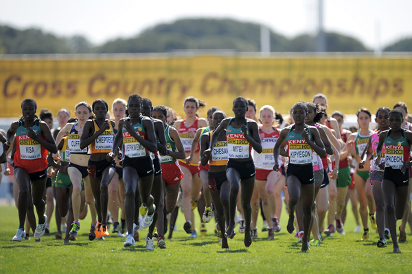 Athletes in action at the IAAF World Cross Country Championships (Getty Images)