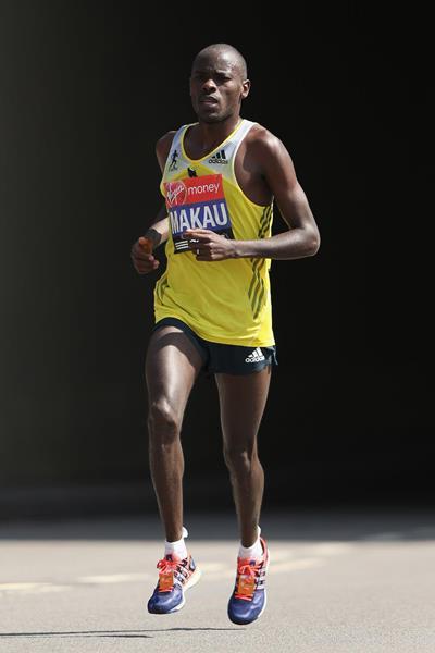 Kenyan distance runner Patrick Makau (Getty Images)