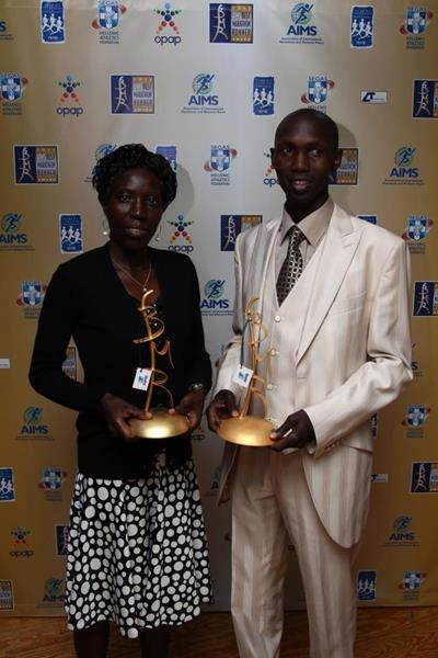 Kipsang and Kiplagat voted AIMS Best Marathon Runners of the Year