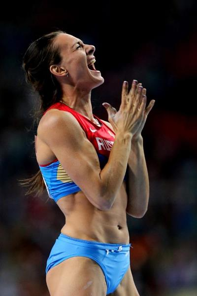 2013 World Championships in Athletics �13 Womens pole vault