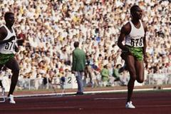 Kip Keino leading Ben Jipcho and Tapio Kantanen in the 1972 Olympic 3000m Steeplechase (Getty Images)