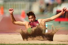 Australian long jumper Darcy Roper (Getty Images)