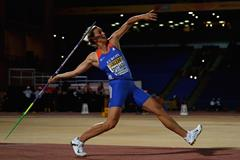 Barbora Spotakova on her way to winning the javelin at the IAAF Continental Cup, Marrakech 2014 (Getty Images)