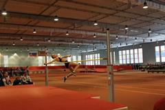 The girl's high jump at the 2015 Russian youth indoor chamiponships in Smolensk (Organisers)