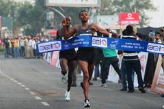 Victory for Ethiopia's Mosinet Geremew (Organisers)
