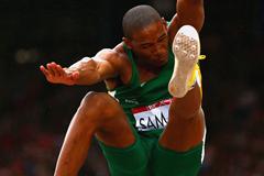 South African long jumper Rushwal Samaai (Getty Images)