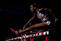 Tiffany Porter in the women's 100m hurdles at the IAAF World Championships, Moscow 2013 (Getty Images)