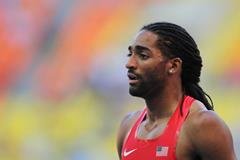 Jason Richardson in the mens 110mH at the IAAF World Championships Moscow 2013 (Getty Images)
