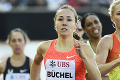 Selina Buchel on her way to winning the 800m (Getty Images)