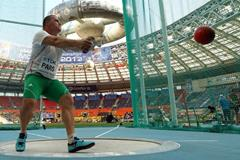 Krisztian Pars in hammer qualifying at the 14th IAAF World Athletics Championships Moscow 2013 - Day One (Getty Images)