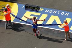 Meb Keflezighi wins the 2014 Boston Marathon (Getty Images)