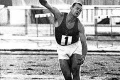 Soviet javelin thrower Janis Lusis (Mark Shearman)