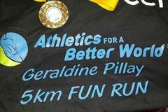 Geraldine Pillay 5km Fun Run T-shirt (Organisers)