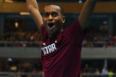 Mutaz Essa Barshim, winner of the high jump at the 2014 IAAF World Indoor Championships in Sopot (Getty Images)