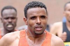 Girmay Birhanu in the 2013 Rome Marathon (organisers / photorun.net)