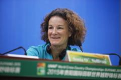 Sonia O'Sullivan at the press conference for the IAAF World Cross Country Championships, Guiyang 2015 (Getty Images)