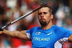 Finnish javelin thrower Antti Ruuskanen (Getty Images)