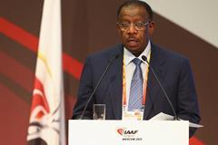 IAAF vice president Dahlan Al Hamad (Getty Images)