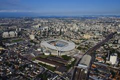 Rio Olympic Stadium, venue of the athletics for the 2016 Olympic Games (Getty Images)