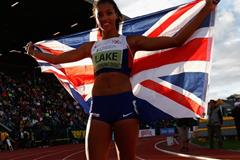 Heptathlon winner Morgan Lake at the IAAF World Junior Championships, Oregon 2014 (Getty Images)
