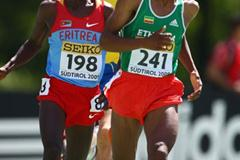 Fikadu Dejene of Ethiopia in action (Getty Images)